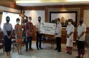 Walikota Rai Mantra Terima Bantuan Asosiasi Korea Bali