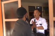 Pendukung Bakal Calon Bupati Rusak Kantor KPU Indramayu