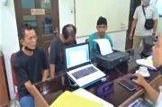 Tiga Pria di Medan Ini Nekat Mencuri Kabel Berarus Listrik Dicokok Tekab
