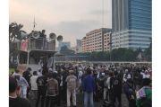 Klarifikasi Korlap Aksi soal Accident Pembakaran Bendera PDIP