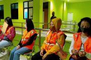 Ngamar saat PSBB Tangsel, Pasangan Mesum dan Tiga PSK Disanksi