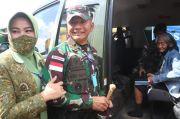 Tangis Haru Sumiyati, Pulang Dari Papua Diantar Prajurit Kostrad