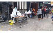 286 Pedagang Pasar Padangsambian Ikuti Rapid dan Swab Test