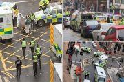 Polisi Tembak Mati Pelaku Penikaman di Glasgow