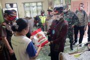 Sambut Hari Bhayangkara ke-74 Polres Simalungun Bagikan 4500 Paket Sembako
