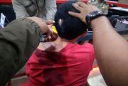 Kepala Sobek Ditusuk, Sopir Taksi Online Dibegal 2 Penumpangnya di Palembang