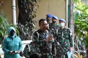 Peringati HUT ke 74, Puspomad Bagikan 1.200 Sembako kepada Purnawirawan