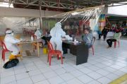61 Pedagang, Karyawan, dan Petugas Parkir Pasar Batujajar Dirapid Test