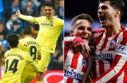 Perburuan Gelar La Liga Atletico-Villarreal Batu Sandungan Barcelona?