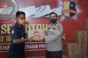 HUT Bhayangkara ke-74, Polri Bagikan 3.200 Paket Sembako untuk ODGJ