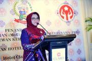 Lies F Nurdin Dorong TP PKK Kota Makassar Tuntaskan COVID-19