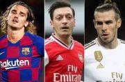 Griezmann, Oezil, Bale, Nama Besar di Kursi Cadangan, Apa Sebab?