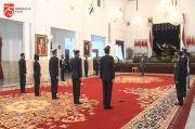 Peringatan HUT ke 74 Bhayangkara Digelar Secara Virtual di Istana Negara