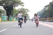 Belum Ada Jalur Sepeda, Pemkot Jakut: Kewenangan Ada di Pemprov DKI