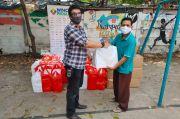 MNC Peduli Berdayakan UMKM Salurkan Bantuan untuk Warga Muara Karang