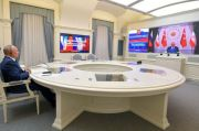 Putin Desak Turki dan Iran Bantu Dorong Dialog di Suriah