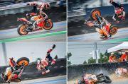 Minim Jatuh, Marquez Bikin Legenda Balap Kagum