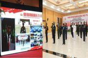 Upacara Virtual Hari Bhayangkara, Polres Gunungkidul Ditunjuk Interaksi Dengan Presiden