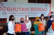 IIK Perhutani Peduli Bagikan 1.000 Paket Sembako di Jateng