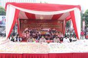 Mabes Polri-Polda Metro Jaya Musnahkan Barbuk Sabu 1,2 Ton
