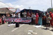 2 Warga Diboyong Polisi, Warga Kembali Blokade Jalan Lintas Sumatera di Madina