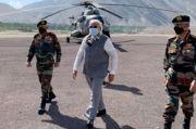 PM Modi Kunjungi Perbatasan India-China di Himalaya