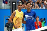 Tidak Semua Petenis Doyan Uang, Djokovic dan Nadal Bermain karena Gelar