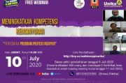 Launching Prodi PPI Unika Ditandai dengan Webinar Kompetensi Keinsinyuran