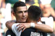 Jelang Derby Turin, Sarri Puji Duet Ronaldo-Dybala di Lini Depan Juventus