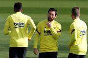 Mantan Presiden Barcelona Ngarep Messi Bertahan