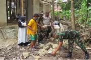 2 Tahun Mangkrak, Satgas TMMD Kodim Kolaka Rehab Total Masjid