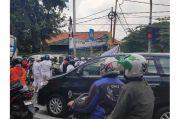 Ratusan Massa Apel Anti Komunis Mulai Padati Lapangan Ahmad Yani