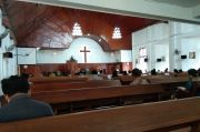 New Normal, Gereja Pematangsiantar Gelar Ibadah dengan Protokol COVID-19