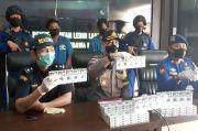 Satpolairud Gagalkan Penyeludupan Rokok dari Batam ke Riau