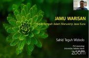 Guru Besar UNS Paparkan Informasi Jamu dalam Manuskrip Jawa Kuno