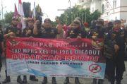 Demo di Titik Nol KM, 3 Ormas di DIY Serukan Tolak RUU HIP