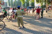 Langgar Protokol Kesehatan, Pesepeda di Solo Dihukum Senam