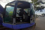 CPU Exavator Proyek Trotoar Jalan Sukowati Hilang Dicuri