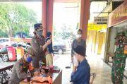 Langgar PSBB, Pengunjung Pasar Koja Didenda