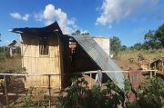 Angin Puting Beliung Hancurkan Satu Rumah Warga Sikka