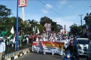 Tolak RUU HIP, Ribuan Warga Lampung Utara Datangi Kantor DPRD