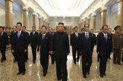 Sempat Menghilang, Kim Jong-un Kini Kunjungi Makam Pendiri Korut