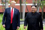 Trump Buka Kemungkinan Kembali Bertemu dengan Kim Jong-un