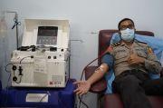 Sembuh COVID-19, 4 Anggota Polda DIY Donorkan Plasma Darah untuk Pasien Corona