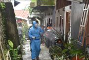 Kasus Corona Melonjak, 1 RT di Makale Tana Toraja Diisolasi