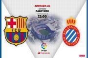 Susunan Pemain Barcelona Vs Espanyol, Mencari Raja di Derby Catalan
