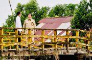 Dukung Program Lumbung Pangan, Jokowi Tinjau Reklamasi Rawa di Pulang Pisau