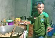 Hanya 1 Jam Saja Sertu Usman Siapkan 170 Porsi Makanan untuk Prajurit 0423/BU