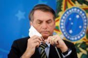 Buka Masker Saat Wawancara, Asosiasi Pers Brasil Tuntut Bolsonaro