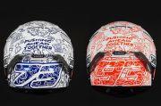 Peduli COVID-19, Marc dan Alex Marquez Pakai Helm Khusus di Jerez